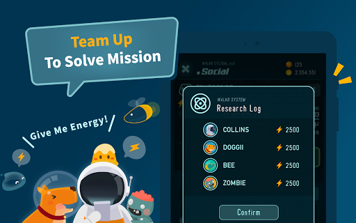 Walkr: Fitness Space Adventure 5.7.2.2 screenshots 18