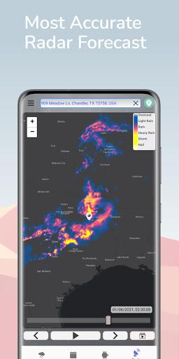 Hyperlocal Weather (Dark Sky Powered by) & Radar apktram screenshots 5