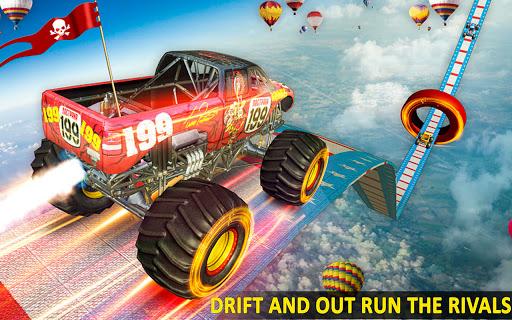 Ramp Monster Truck Stunts:New Racing Games 2.1 screenshots 1