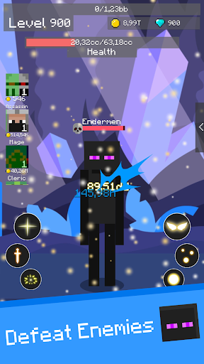 Mine Mob Clicker Rpg apkpoly screenshots 6