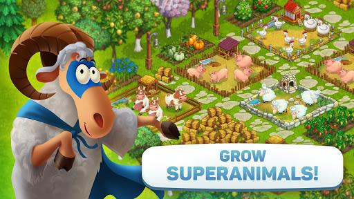 Superfarmers: happy farm & heroes city building ud83cudf3b android2mod screenshots 7
