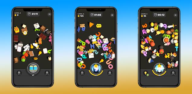 Pair Match Diner 3D Puzzle Game - Classic Match 0.1 screenshots 1