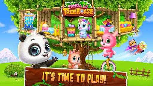 Panda Lu Treehouse - Build & Play with Tiny Pets  Screenshots 3
