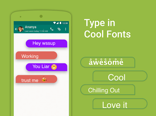 Bobble Indic Keyboard - Stickers, u0492onts & Themes android2mod screenshots 7
