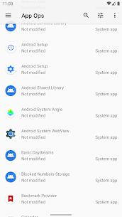 App Ops Mod Apk- Permission manager 5.3.0 (Pro Features Unlocked) 2