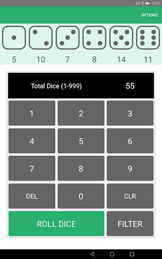 Xd6 - Dice Roller 1.0.8.2 screenshots 9