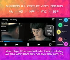 screenshot of HD Video Player For All Format Music Player