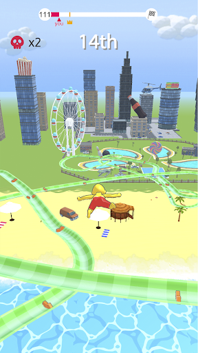 Code Triche aquapark.io (Astuce) APK MOD screenshots 2