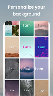 I am - Daily affirmations reminders for self care