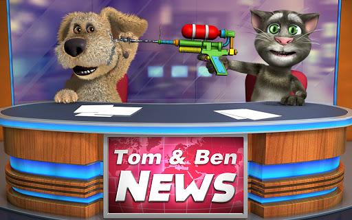 Talking Tom & Ben News apktram screenshots 4