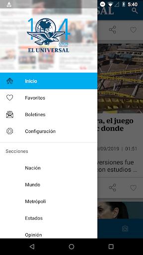 El Universal 3.2.4 screenshots 6