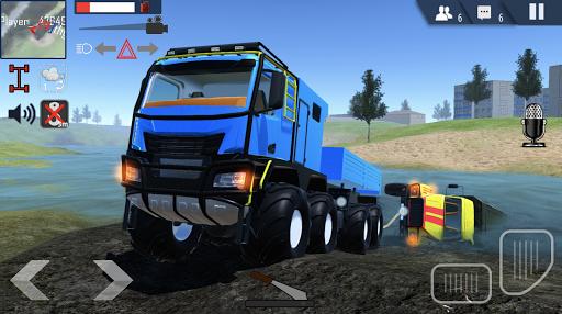 Offroad Simulator Online: 8x8 & 4x4 off road rally APK MOD – Pièces Illimitées (Astuce) screenshots hack proof 1