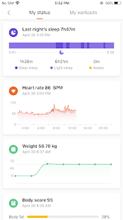 Mi Fit Screenshot