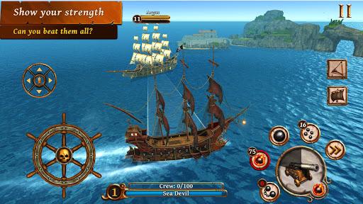 Ships of Battle - Age of Pirates - Warship Battle 2.6.28 Screenshots 3