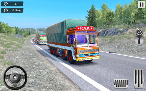 Indian Truck Offroad Cargo Drive Simulator 2  Screenshots 15