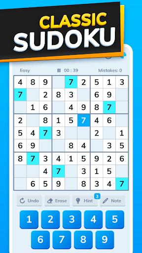 Bitcoin Sudoku - Get Real Free Bitcoin!  screenshots 1