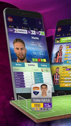Real Manager Fantasy Soccer at another level 1.3.0 screenshots 1