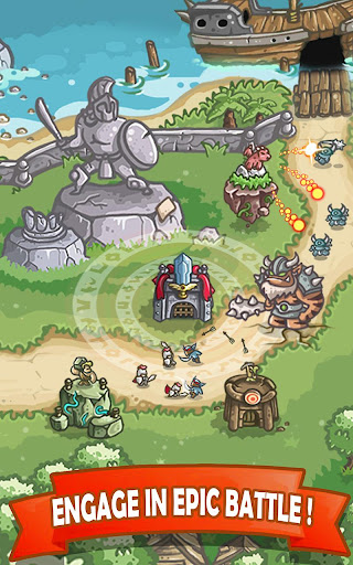 Kingdom Defense 2: Empire Warriors - Tower Defense 1.4.1 screenshots 1