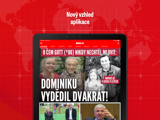 Blesk: zpru00e1vy, celebrity, sport 2.6.10 screenshots 7