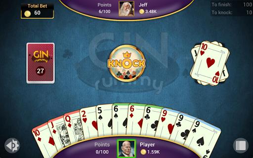 Gin Rummy - Offline Free Card Games 1.4.1 Screenshots 13