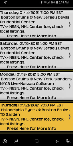 Trivia Game and Schedule for Die Hard Bruins Fans 49 screenshots 7