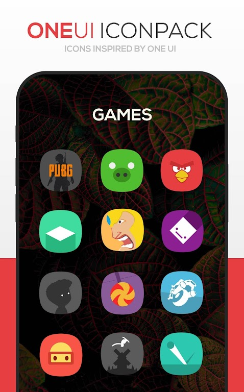 ONE UI Icon Pack poster 4