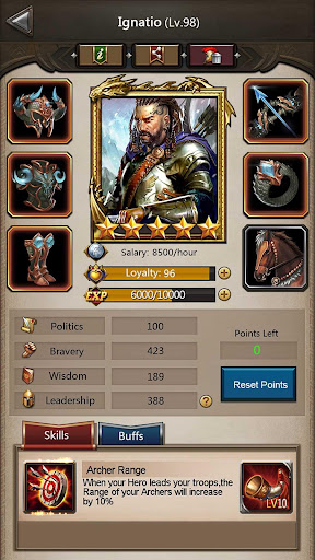 Empire War: Age of hero 10.005 screenshots 6