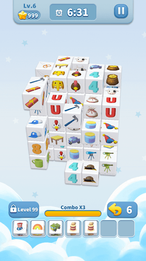 Cube Master 3D - Match 3 & Puzzle Game Apkfinish screenshots 2