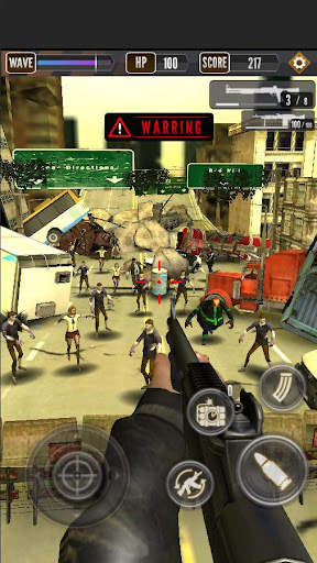 Zombie Shooting King apklade screenshots 1
