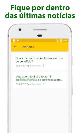 Foto do App do Beneficiário - Bolsa / Auxílio