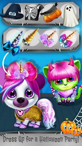 Kiki & Fifi Halloween Salon - Scary Pet Makeover  Screenshots 5