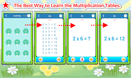 Free Multiplication Tables Challenge (Math Games) 4