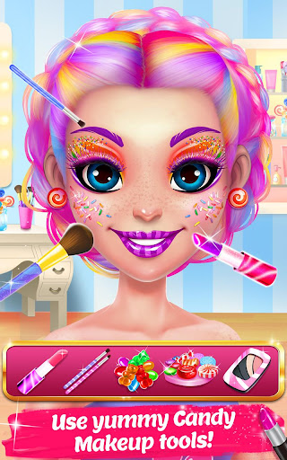 Candy Makeup Beauty Game - Sweet Salon Makeover 1.1.8 screenshots 7