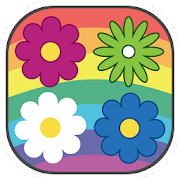 Twisted Flowers Match 3 Puzzle