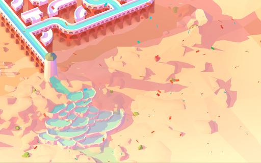 Aquavias u2013 Water Flow Puzzle modavailable screenshots 8
