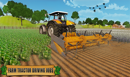 Farming Tractor Driver Simulator : Tractor Games android2mod screenshots 4