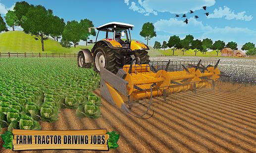 Farming Tractor Driver Simulator : Tractor Games apk