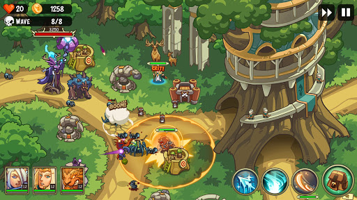 Empire Defender TD: Tower Defense The Fantasy War Varies with device screenshots 8