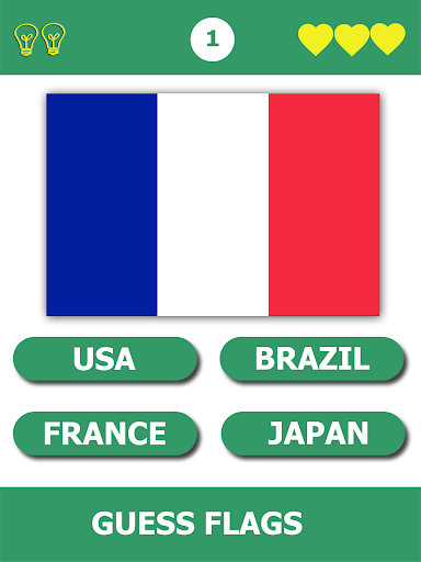 Flags Quiz Gallery : Quiz flags name and color Flag 1.0.184 screenshots 4