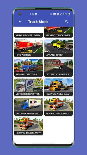 Bus Mod Livery - Bus Simulator Indonesia  screenshots 3