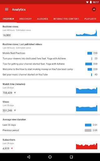 YouTube Studio 20.47.101 Screenshots 16