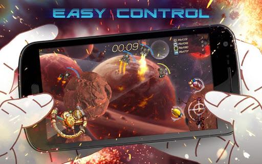 spacejunk rumble: real-time pvp arcade screenshot 1