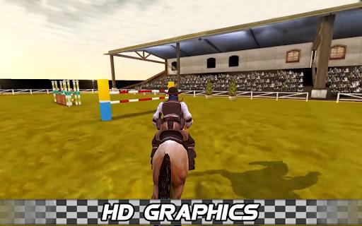 Derby horse Riding Finish Quest Race Jump 1.0 screenshots 5