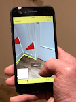 screenshot of CamToPlan - AR measurement / tape measure