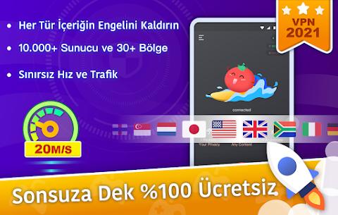 Ücretsiz VPN Tomato | En Hızlı Ücretsiz VPN Proxy Apk Son Sürüm 2021 1