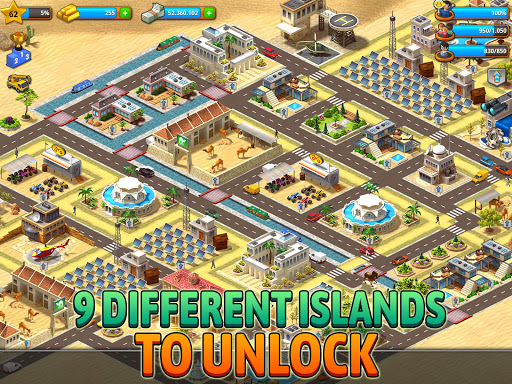 Paradise City: Building Sim Game  screenshots 8