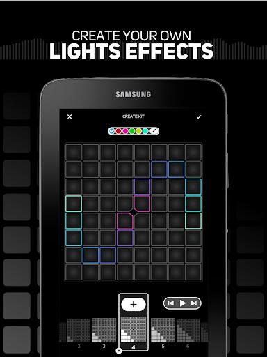 SUPER PADS LIGHTS - Your DJ app  Screenshots 8