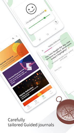 Daybook - Diary, Journal, Note, Mood Tracker android2mod screenshots 2