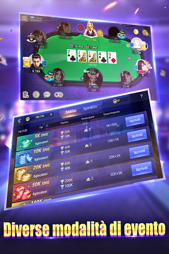 Texas Poker Italiano (Boyaa) 6.2.1 screenshots 12