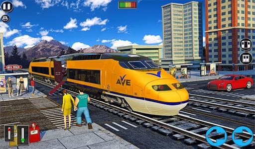 Underwater Bullet Train Simulator : Train Games screenshots 11